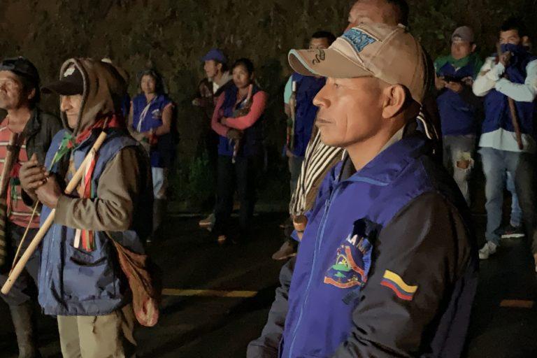 Guardia Indígena del Cauca. La Guardia Indígena del Cauca existe desde 2001. Foto: Front Line Defenders.