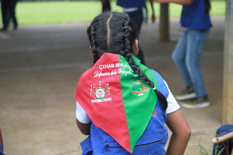 Guardia Indígena del Cauca. Los niños también participan de la Guardia Indígena del Cauca. Foto: Front Line Defenders.