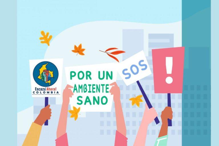 Más de 150 organizaciones se han unido para pedirle al gobierno colombiano que ratifique el Acuerdo de Escazú. Foto: Organización Ambiente y Sociedad.