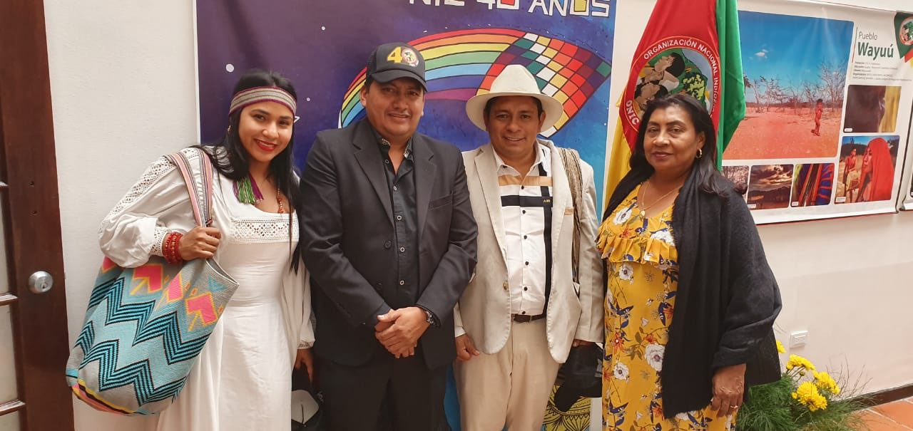 Irama Movil es una reconocida líder wayuú. Foto: Twitter Irama Movil.