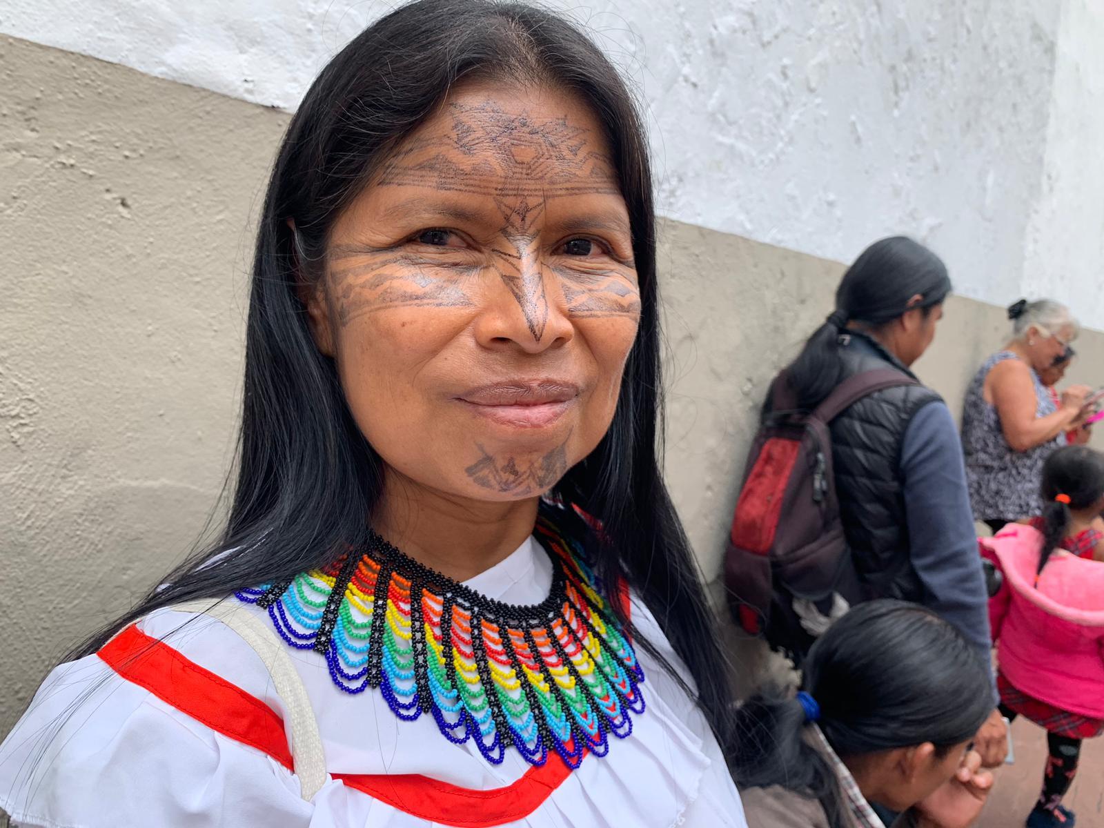Mujeres amazónocas, Noemí Gualinga
