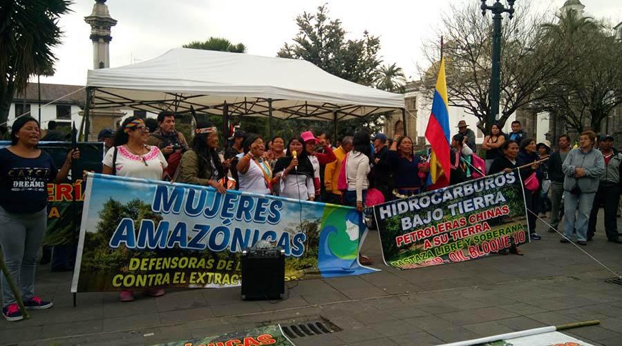 Mujeres Amazónicas-Noemí Galinga