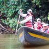 Guardaparque de la Reserva de Producción de Fauna Cuyabeno. Foto: Ministerio del Ambiente y Agua de Ecuador.