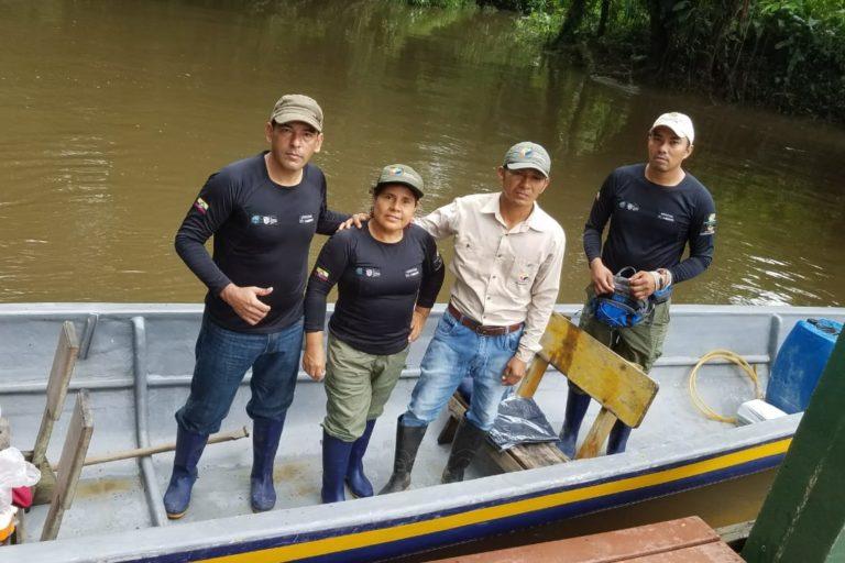 Vilma Lucero es la única mujer guardaparque en la Reserva de Producción de Fauna Cuyabeno - Ecuador. Foto: Vilma Lucero.