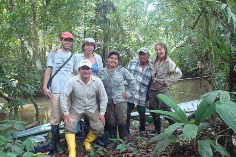 Durante la pandemia, el presupuesto y el personal se ha reducido en la Reserva de Producción de Fauna Cuyabeno. Foto: Vilma Lucero.