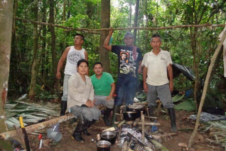 Durante la pandemia, Vilma Lucero dice que se incrementaron las actividades ilegales dentro de la Reserva de Producción de Fauna Cuyabeno. Foto: Vilma Lucero.