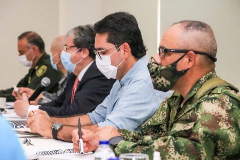 Consejo de Seguridad en Villavicencio. Foto: Cormacarena.