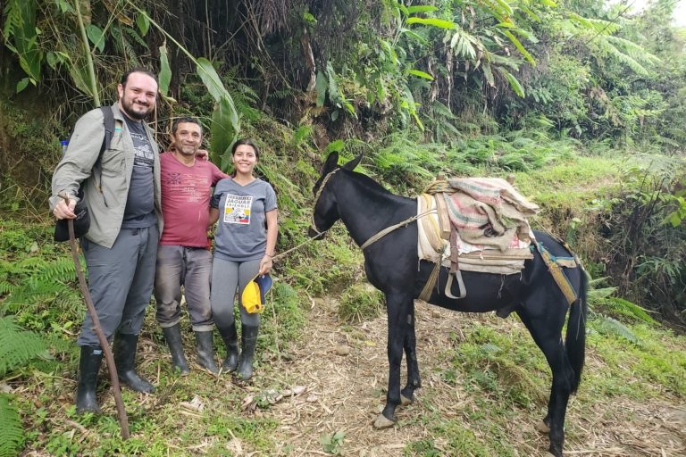José Fernando González-Maya, en el proyecto de conservación de jaguar en la Sierra Nevada. Foto: ProCAT.