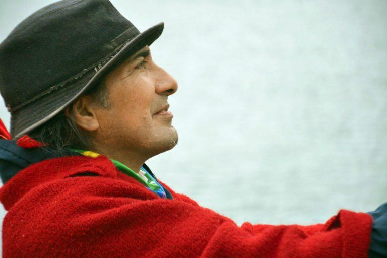 Yaku Pérez es el candidato por el movimiento indígena Pachakutik. Fue prefecto del Azuay y es defensor del agua. Foto: cuenta de Twitter de Yaku Pérez.