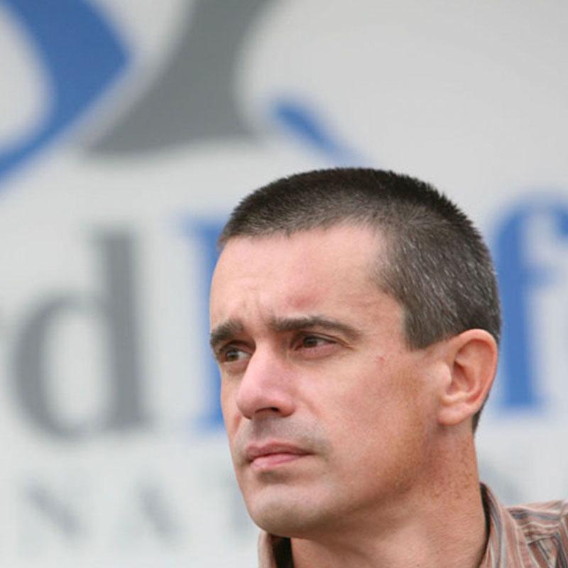 Stuart Butchart, director científico de Birdlife International. Foto: Stuart Butchart.