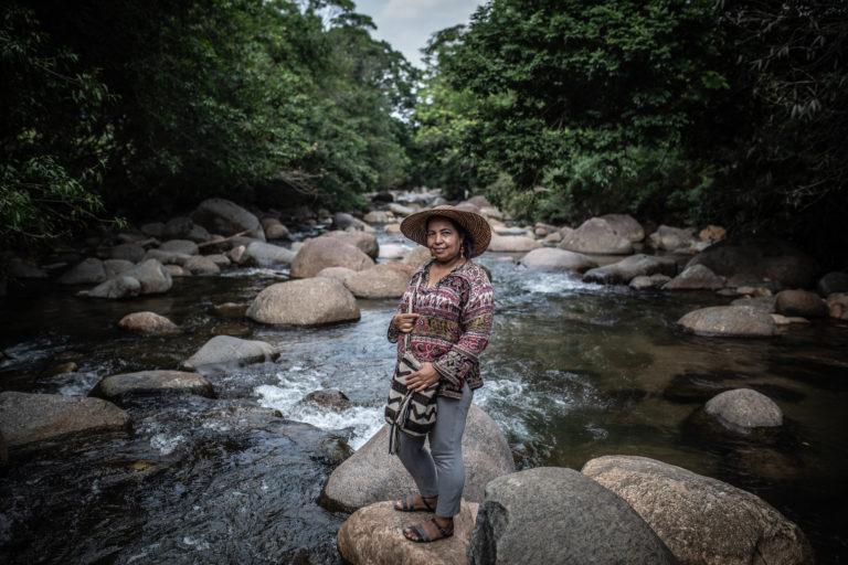 Magaly Belalcázar ya ha desistido de denunciar las amenazas que recibe pues, según dice, las autoridades colombianas no hacen nada. Foto: Pablo Tosco/Oxfam Intermón.