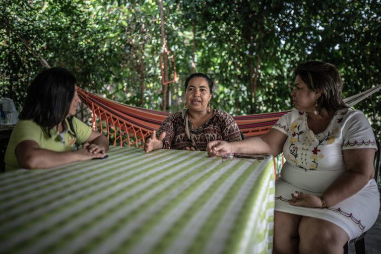 A Magaly Belalcázar lucha por los derechos de la mujer y el medio ambiente en Caquetá. Foto: Pablo Tosco/Oxfam Intermón.