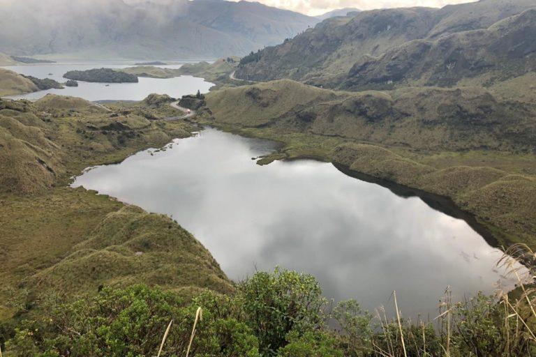 La contaminación que se causa en las montañas afecta el agua de consumo de las poblaciones aguas abajo. Foto: Blanca Ríos-Touma.