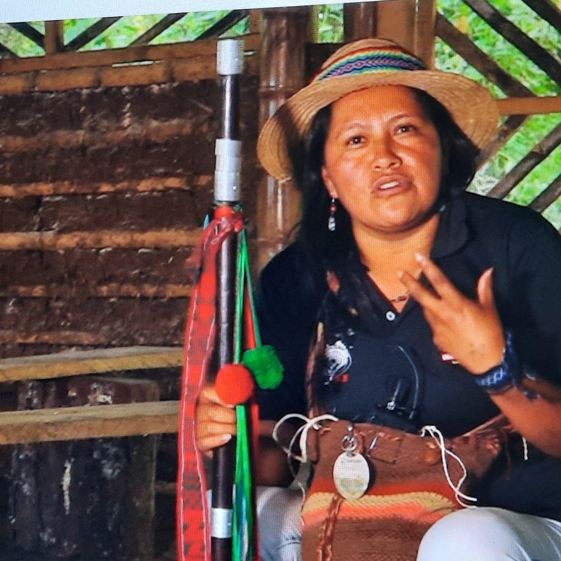 Ella es Sandra Liliana Peña Chocué, la gobernadora indígena que asesinaron el 20 de abril en el resguardo de La Laguna-Siberia, en Caldono, Cauca, en el suroeste de Colombia. Foto: Cortesía CRIC.
