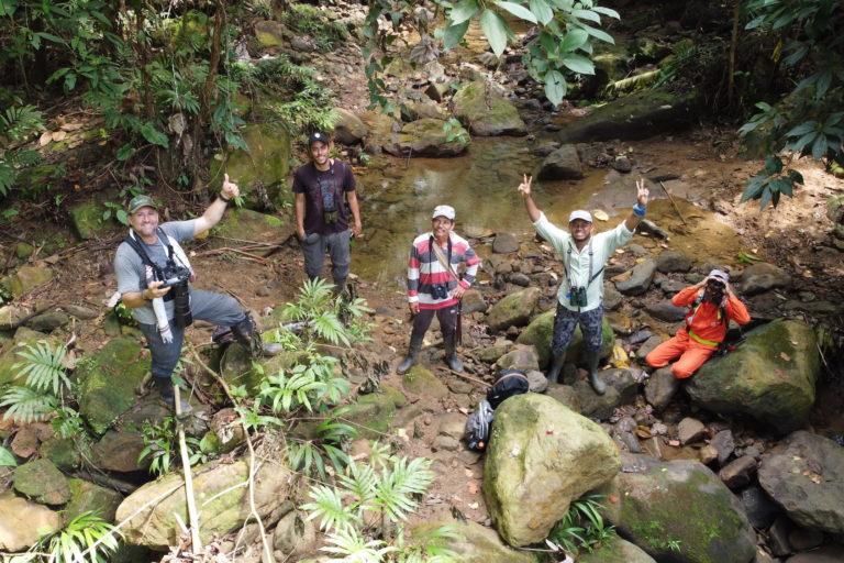 Foto de la expedición en dron. Foto: Willian Brand Castrillón.