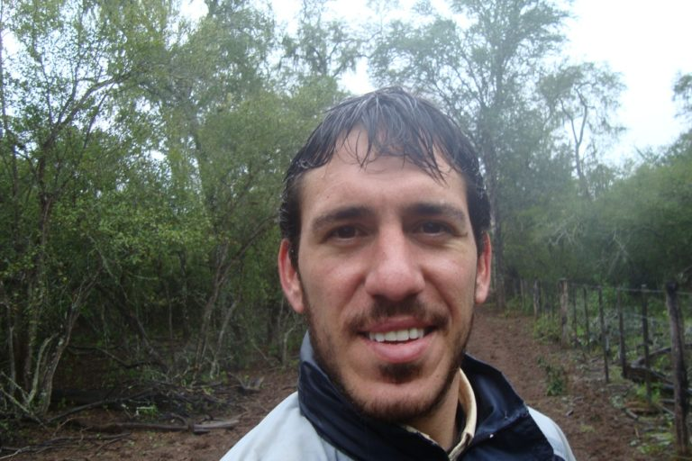 Matías Mastrangelo es PhD en Biología de la Conservación de Victoria University of Wellington. Foto: Matías Mastrangelo.