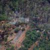 Esta montaña en la parroquia de Buenos Aires fue epicentro de la minería ilegal entre 2017 y 2019. Foto: Iván Castaneira / Agencia Tegantai.