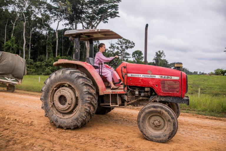 La colonia menonita en Masisea, Perú, se dedica actualmente al cultivo de arroz y soya. Foto: Sebastián Castañeda.