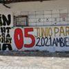 Murales como este fueron realizado en algunas calles de las principales ciudades de Colombia. Foto: Comité Santurbán.