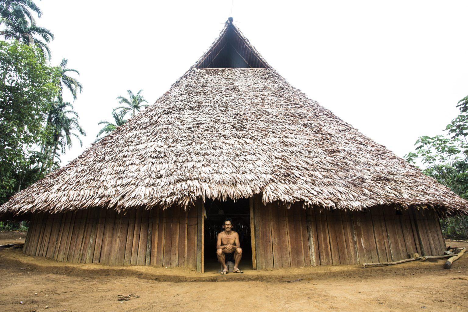 Indigenous Maloka in the Apaporis. Image courtesy of Juan Gabriel Soler/GAIA Amazonas Foundation.