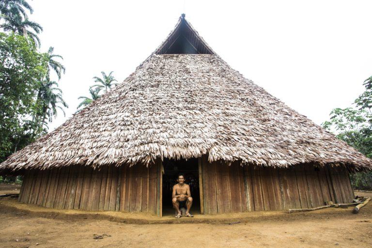 Maloka indígena en el Apaporis. Foto: GAIA Amazonas - Juan Gabriel Soler.