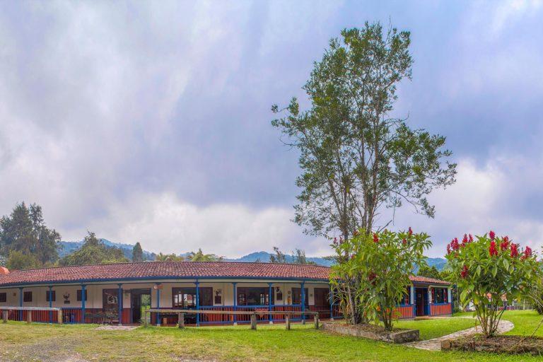 Alojamientos de Yarumo Blanco en el Santuario de Fauna y Flora Otún Quimbaya. Foto: cortesía Yarumo Blanco.