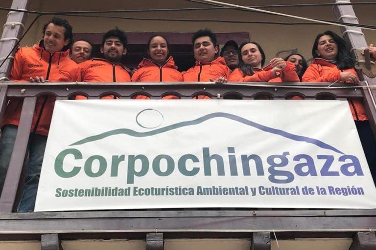 Integrantes de la organización Corpochingaza. Foto: Facebook Corpochingaza.