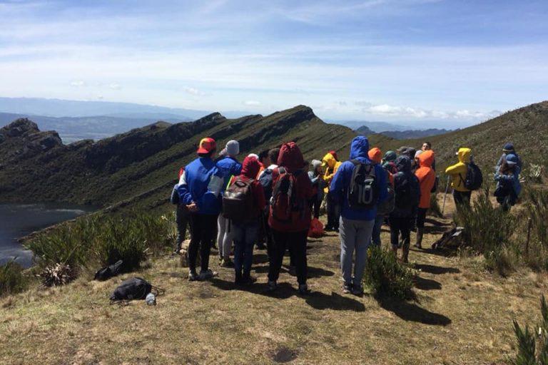 Visitantes recorren el Parque Chingaza. Foto: Facebook Corpochingaza.