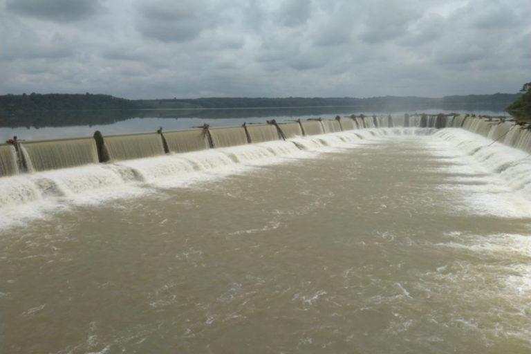 Represa en el río Baba, cuenca hidrográfica del Guayas (oeste de Ecuador). Foto: cortesía Windsor Aguirre.