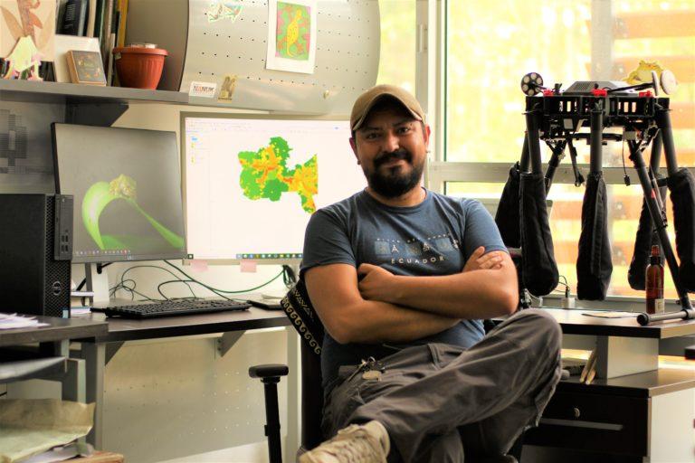 Mauricio Ortega lideró el grupo de científicos que publicó la Lista Roja de Anfibios de Ecuador. Foto: archivo personal.
