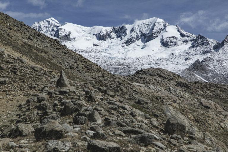 Picos nevados en el parque nacional Sierra Nevada de Santa Marta. Foto: Amado Villafaña Chaparro.