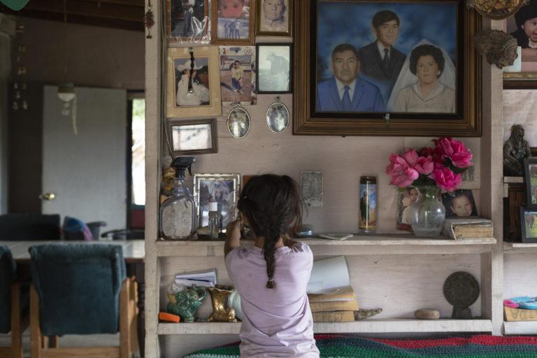 La casa de José Cuero en Juntas de Nejí, México. Foto: Felipe Luna / Global Witness.