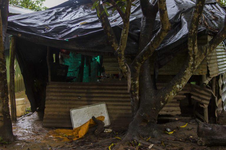Vivienda en la comunidad El Trompillo - Kuway, La Primavera, Vichada, Colombia. Foto: Juan Carlos Contreras Medina.