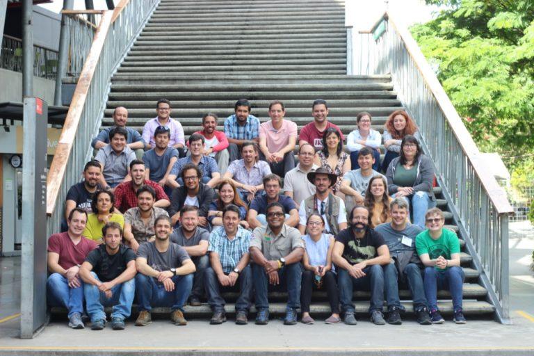 Participantes de la primera reunión de la Iniciativa de Supervivencia Atelopus. Foto: Parque Explora.