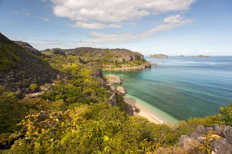 On the island of Nosy Hara, Madagascar. Photo credit: Louise Jasper.