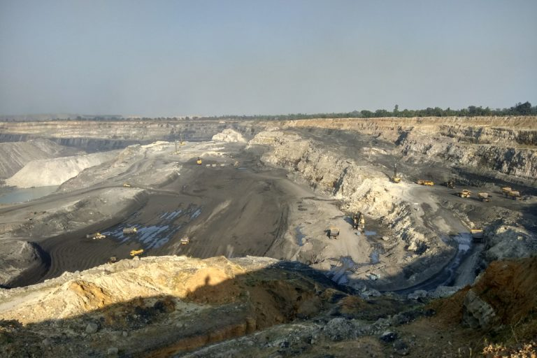 A lot of forest land is diverted in India every year for developmental projects like mining. Photo credit: Mayank Aggarwal/Mongabay-India.