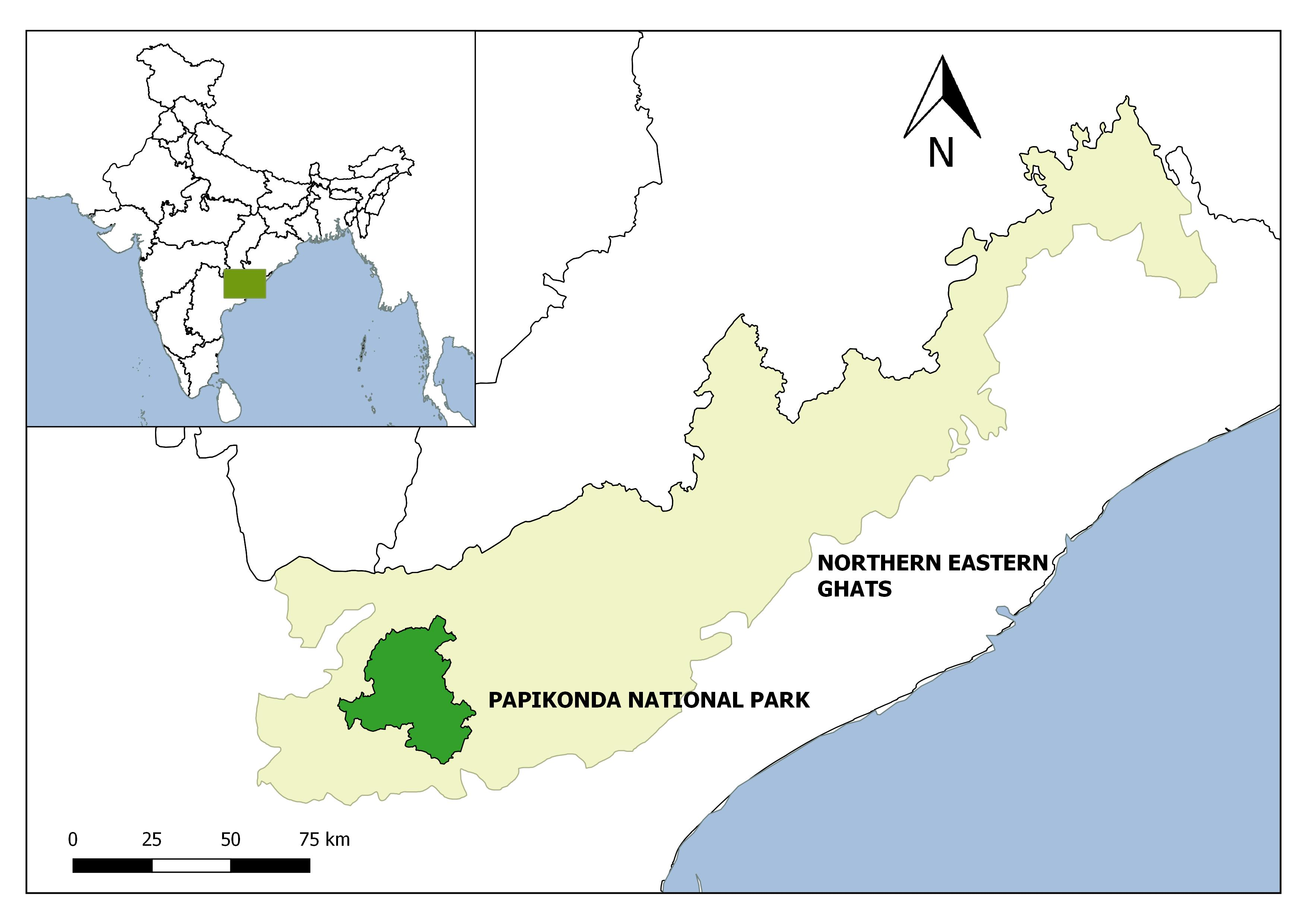 Northern-eastern-ghats-map