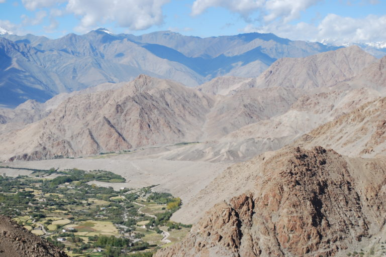 Landscape of the Leh region. (Photo credit: National Bureau of Plant Genetic Resources).