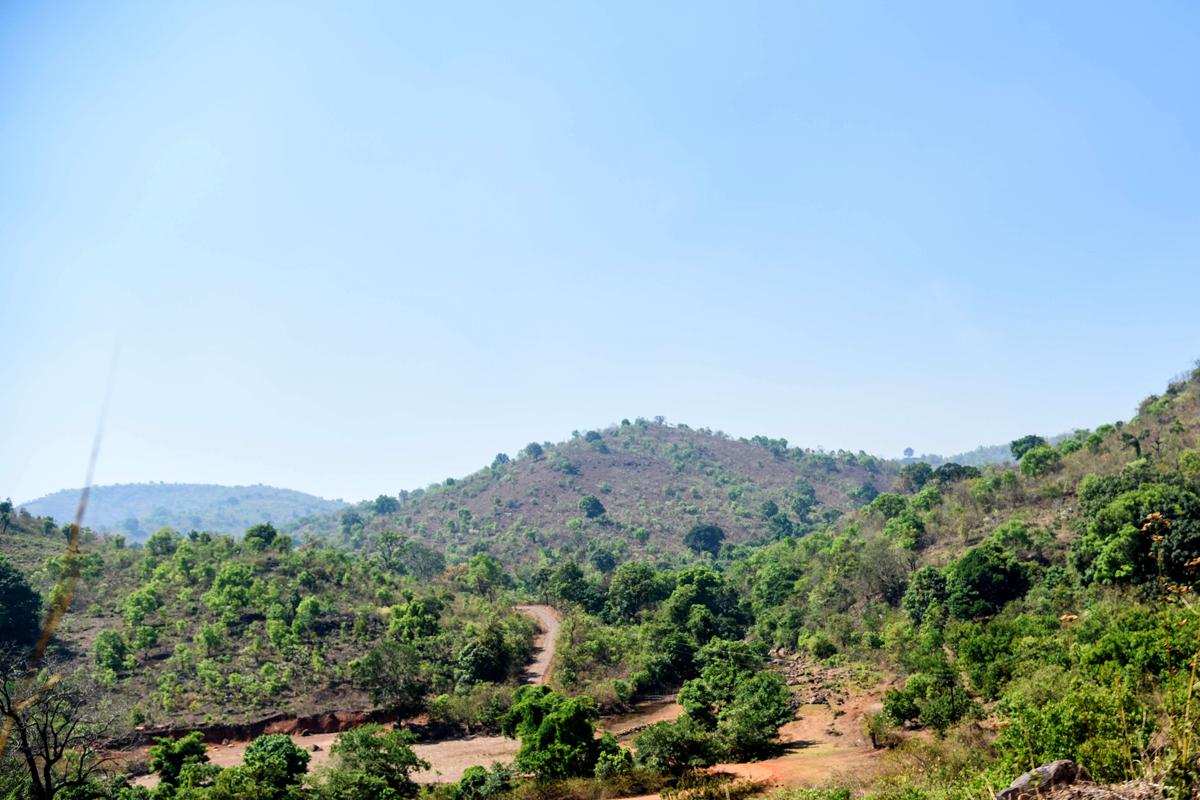 Bonda Hills at Khairput block of Malkangiri district of Odisha.