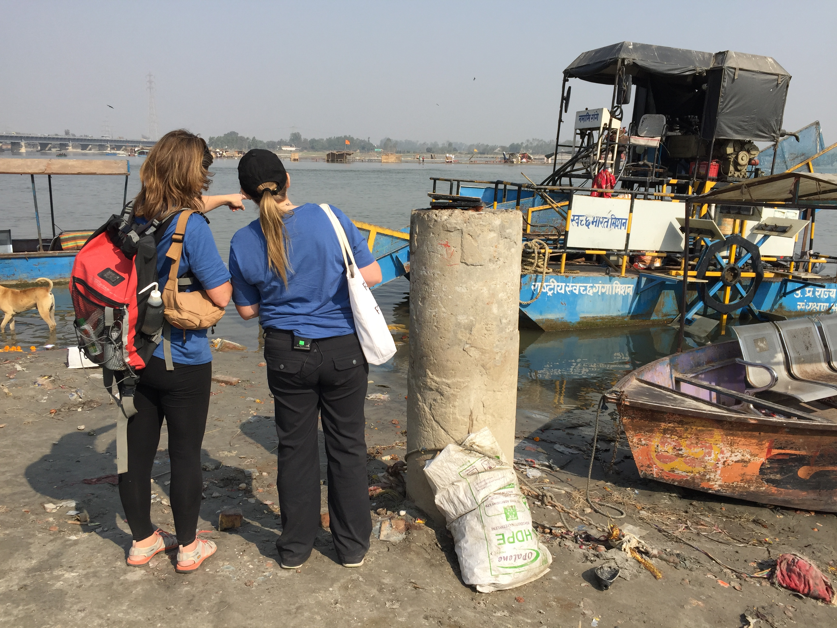 The Source to Sea: Ganges expedition crew moved through 10 sites by boats, train, boat and road, across seven weeks, spending three days per site.