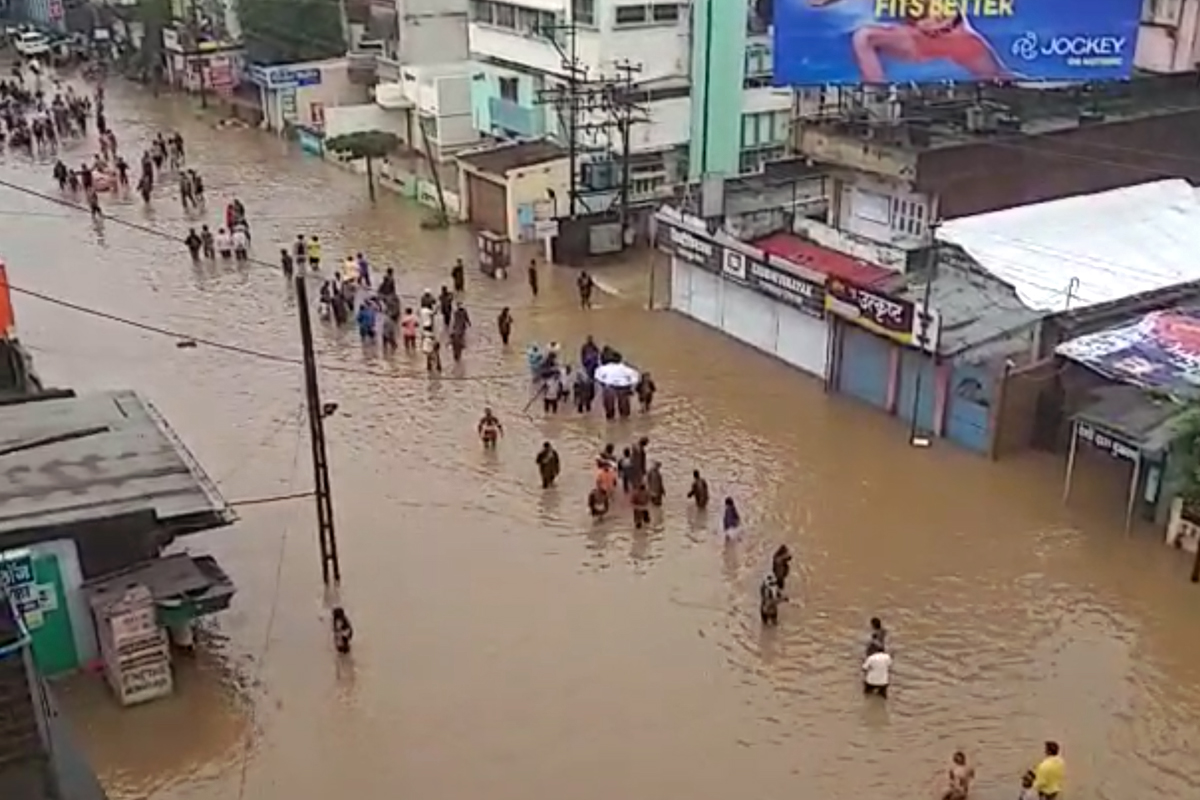 Image result for Rain Havoc: Activists blame Maharashtra government for ignoring climate change report