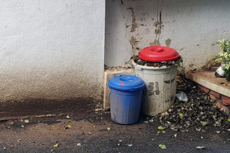 While a fraction of the society is increasingly aware of waste segregation at source, a smaller fraction is implementing the practice with the help of authorities and NGOs. Photo by Aditi Tandon.