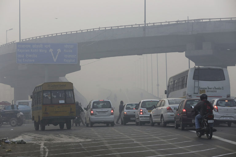 Delhi is among the worst polluted cities of the world and Delhites say it is good that the issue of election is being debated before assembly polls. Photo courtesy of Vikas Choudhary/CSE.