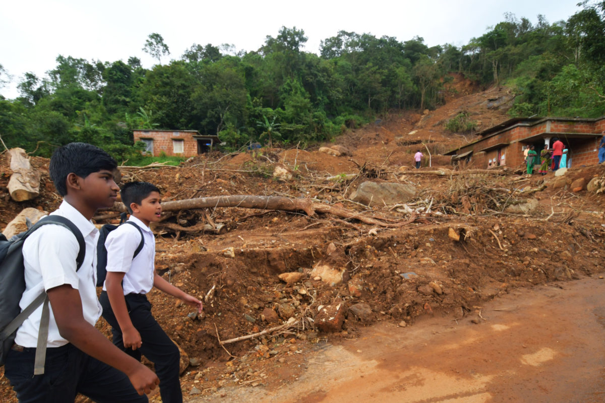 Landslide have become an annual affair in Wayanad. Photo by Abhijith Madhyamam.
