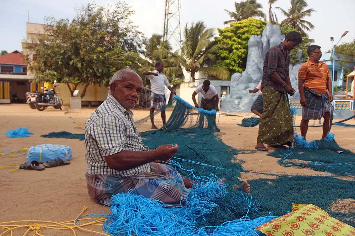 Thoothoor's fishermen believe that if more Indian fishermen adopted their practices and methods, shark fisheries could be managed sustainably. Photo by Bhanu Sridharan.