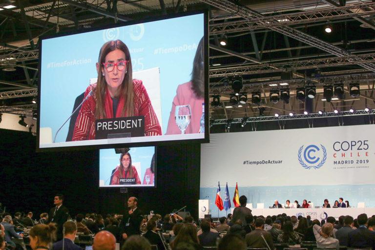 Carolina Schmidt, COP25 President, Chile. Photos by IISD/ENB, Kiara Worth.