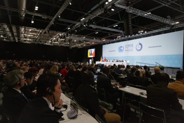 COP25 was an opportunity to effectively link the Kyoto Protocol regime with that of the Paris Agreement starting in 2020. Photo by UNFCCC/Flickr.