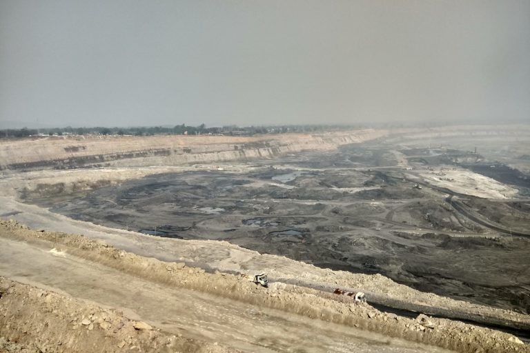 Known as India's energy capital, Singrauli is home to many coal mines and power plants. Photo by Mayank Aggarwal/Mongabay.