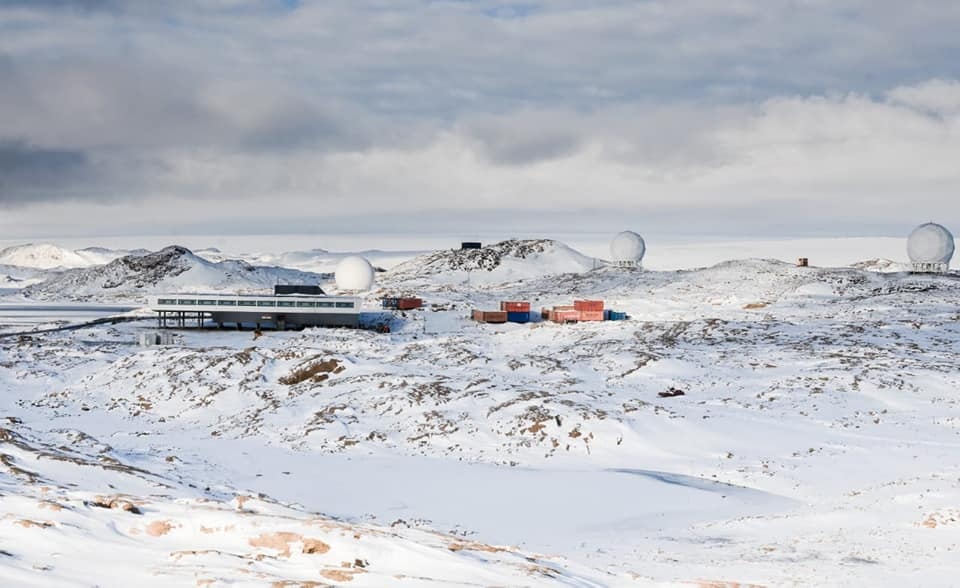 India's Bharati research station in Antarctica. The country has two research stations in Antarctica: Bharati (commissioned in 2012) and Maitri (since 1988). Photo from NCPOR.