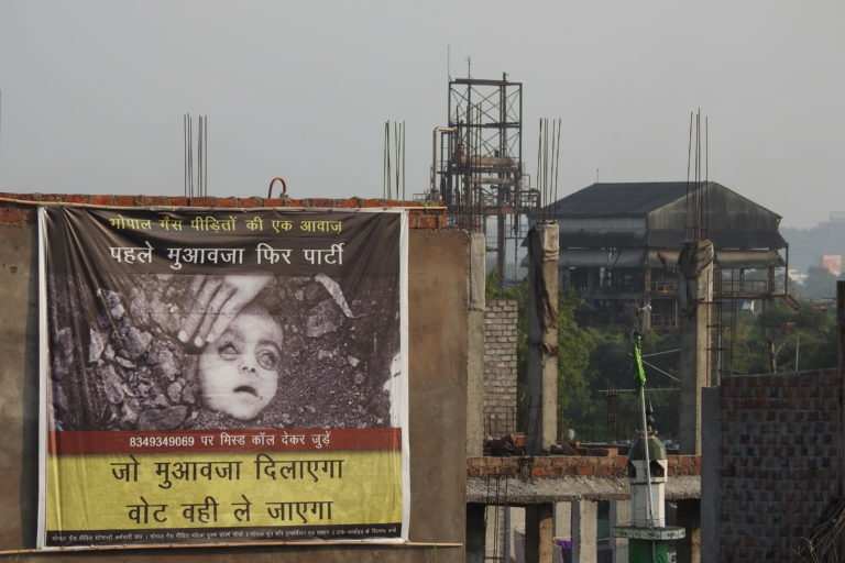The Bhopal gas tragedy of 1984 is considered to be one of the worst industrial disasters in India. Photo by Satinath Sarangi.